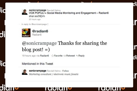 How to engage your community on Twitter | oneforty | Hybrid Digital Culture | Scoop.it