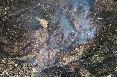 Chips Fire Burn Scar : Natural Hazards | GTAV AC:G Y8 - Landforms and landscapes | Scoop.it