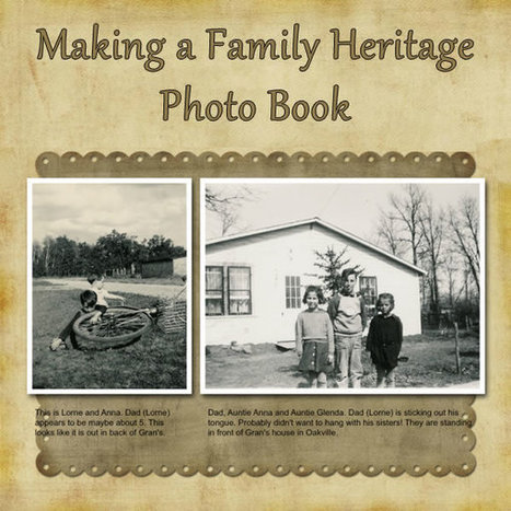 family history book ideas scoop it