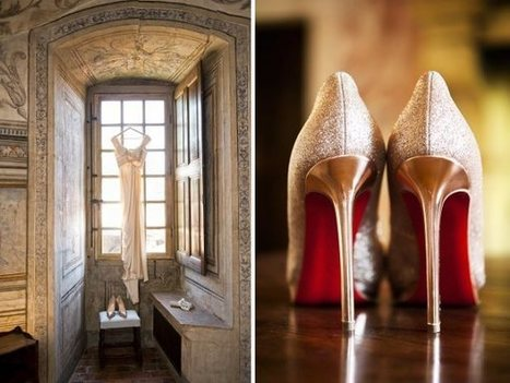 A Glamorous Wedding in a Beautiful French Chateau | Go Wedding | Scoop.it
