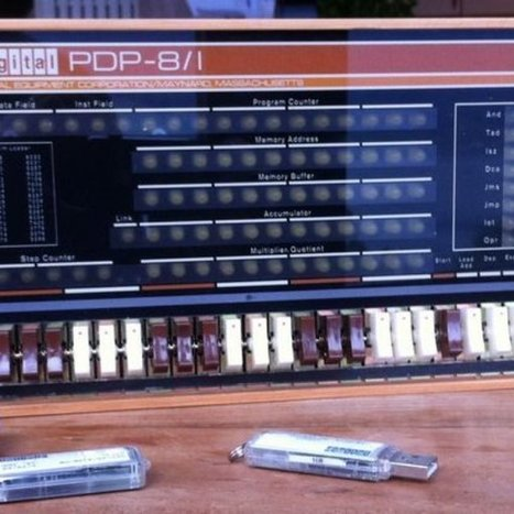 Remaking the PDP-8/I using the Pi, simh & a replica front panel | Arduino, Netduino, Rasperry Pi! | Scoop.it