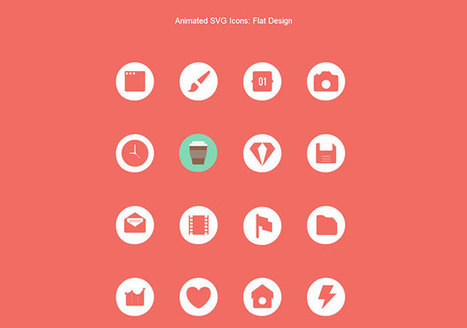 11 Resources For Downloading Free Animated SVG Icons | Web & Graphic Design | Bashooka | Web tools and technologies | Scoop.it
