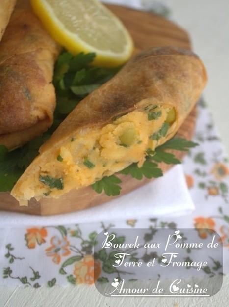 bourek aux pommes de terre et fromage/entree pour ramadan | Cuisine Algerienne, cuisine du monde | Scoop.it