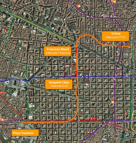 Territori adjudica la redacción del proyecto de conexión de la línea Llobregat-Anoia con la Barcelona-Vallès de FGC   Plaça Lesseps   Scoop.it