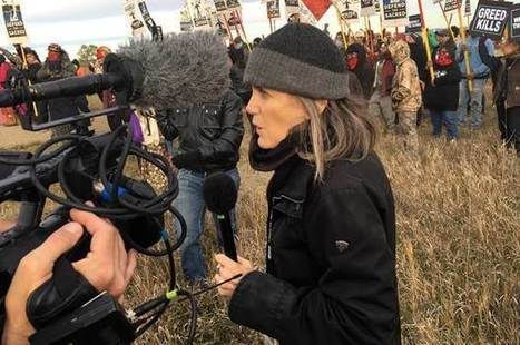 """A hero of real news: Amy Goodman and """"Democracy Now!"""" celebrate 20 years of fearless journalism in the age of lies 