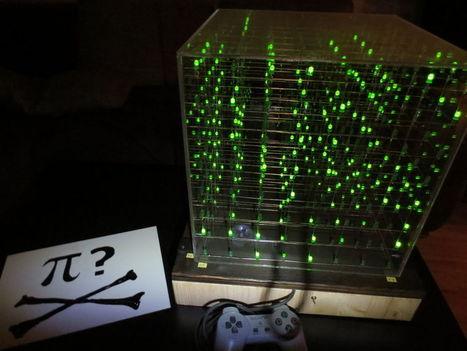 8X8X8 Cube Invaders - Hack a Day | Arduino, Netduino, Rasperry Pi! | Scoop.it