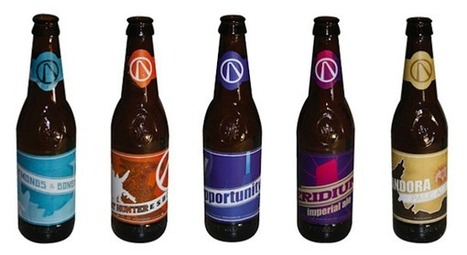 """Borderlands 2″ Beer Bottle Labels 