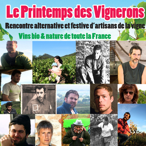 Le printemps des vignerons, salon du vin bio et nature à Cabrières ... | vin naturel | Scoop.it