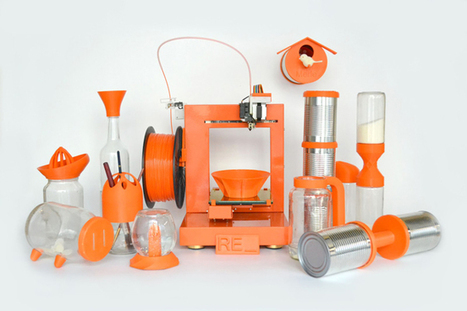 Proyecto RE_: piezas en 3D Print + Upcycling de productos   Big and Open Data, FabLab, Internet of things   Scoop.it