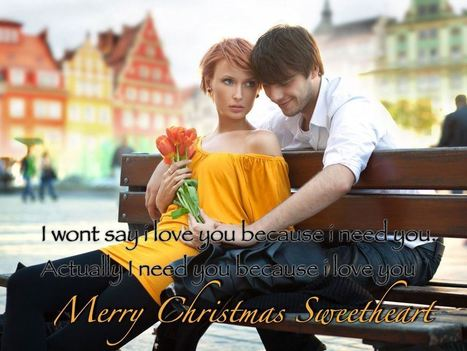 romantic christmas wishing greeting cards for boyfriend girlfriend erabegincom happy new