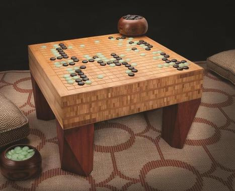 Build your own unique Go board | Go, Baduk, Weiqi ~ Board Game | Scoop.it