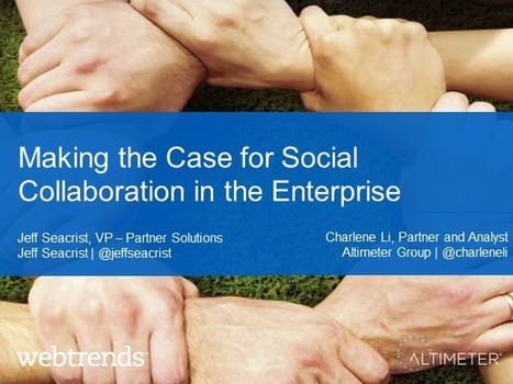 Unlocking the Business Value of the Social Enterprise | BrightTALK | Business Transformation | Scoop.it