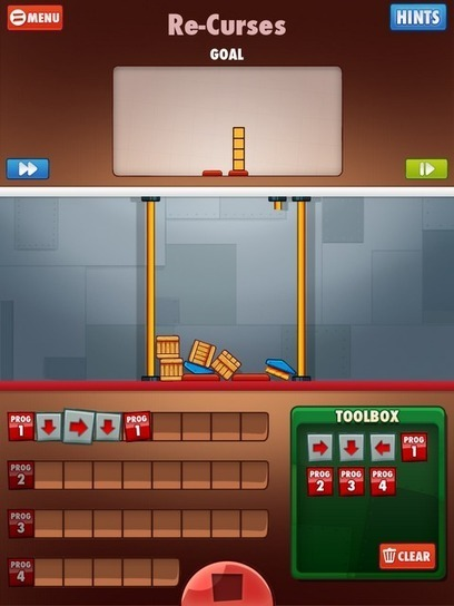 Free Technology for Teachers: Cargo Bot - An iPad Game About Logic | WEBOLUTION! | Scoop.it