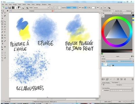 Des outils numériques pour dessiner   Vie numérique  à l'école - Académie Orléans-Tours   Scoop.it