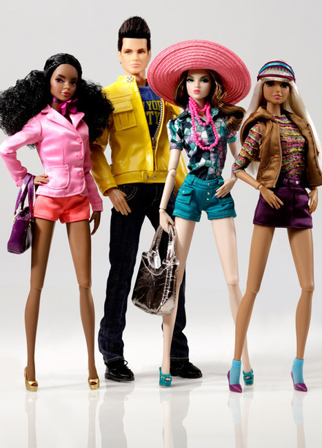 The Dynamite Girls (and Boy) are hitting the City - Doll Observers | Fashion Dolls | Scoop.it