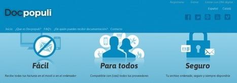 Docpopuli, gestión de facturas electrónicas domésticas y documentos   Las TIC y la Educación   Scoop.it