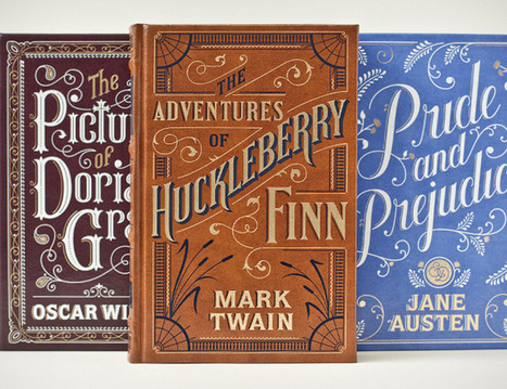 Barnes & Noble Classics Titles - The Dieline - The #1 Package Design Website -   Book Cover Designs   Scoop.it