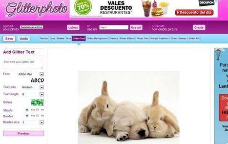 Glitterphoto, dale un toque original a tus fotos con efectos y animaciones | veronicaintec@educ.ar | Scoop.it
