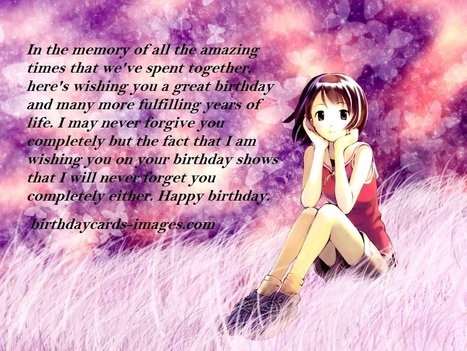 Birthday Wishes For Ex Boyfriend Birthday Mes