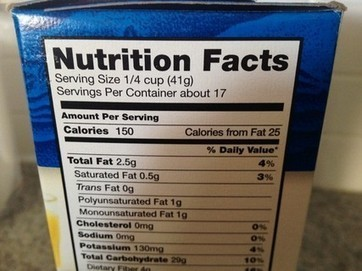 FDA to update nutrition labels; RDs, GMA say 'calories from fat' should go away | Trends In Food | Scoop.it