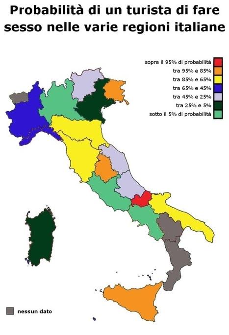Vuoi vacanze hot? Ecco la classifica italiana dove c'è più probabilità di fare sesso - Retenews24 | Complicità nella coppia | Scoop.it