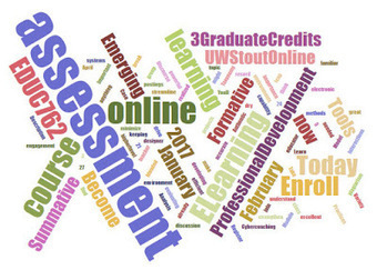 Assessment in E-Learning 3 Graduate Credits - 8 Weeks Enroll Today | E-Learning and Online Teaching | Scoop.it
