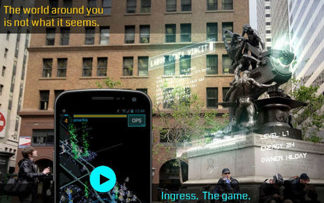 Google Launches Mobile Game You Play in Real Life   Location based learning and mobile games   Scoop.it