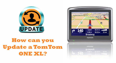 How can you Update a TomTom One XL?   software
