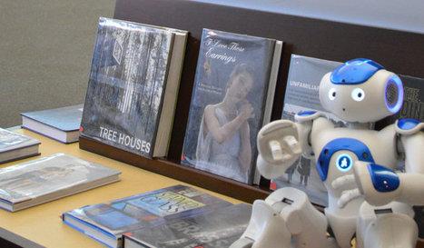 Beyond bookshelves: Meet your public library's robots | More TechBits | Scoop.it