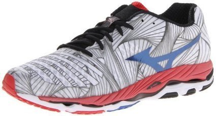 Mizuno Men's Wave Paradox Running Shoe,White,13