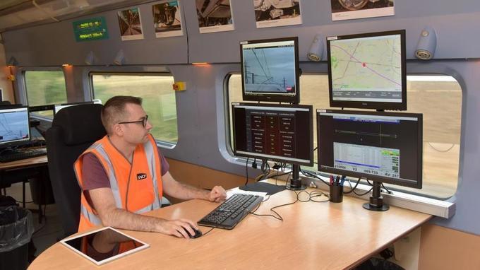 Un TGV français contrôle la grande vitesse belge