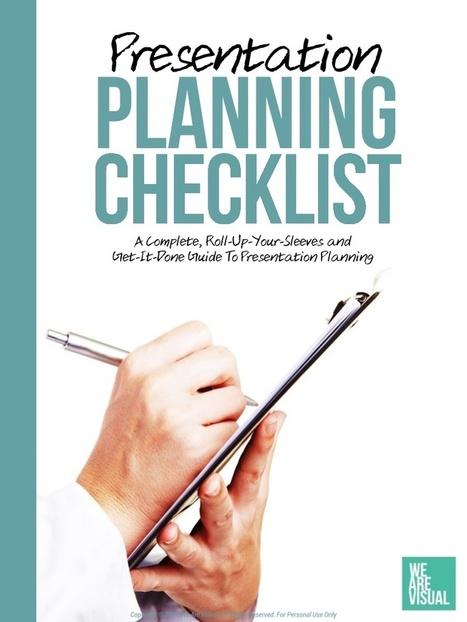 The Presentation Planning Checklist - Free eBoo... | EFL in the GCC | Scoop.it