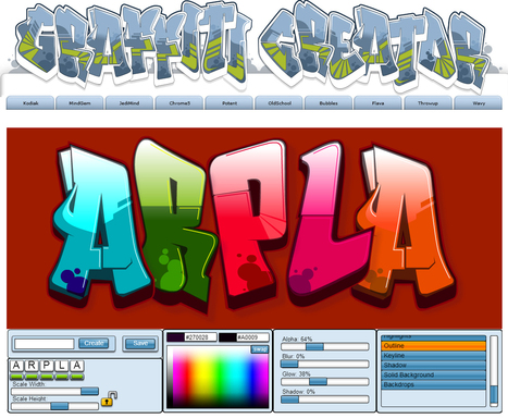 The Graffiti Creator | Web2.0 et langues | Scoop.it