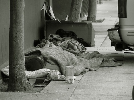 Homelessness and the Impossibility of a Good Night's Sleep   Baltimore Alternative Media Network Group   Scoop.it
