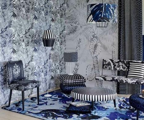 39 christian lacroix maison 39 in tissu d 39 ameublement art textile et papier peint de luxe. Black Bedroom Furniture Sets. Home Design Ideas