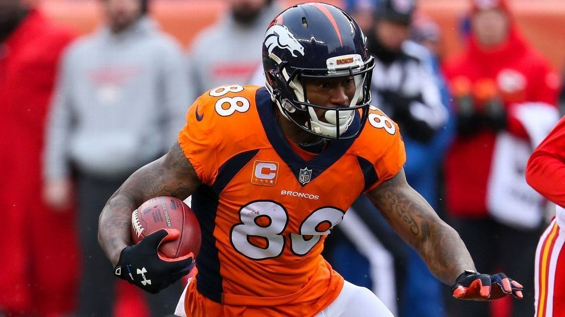 Denver Broncos trade  WR Demaryius Thomas to  ... b7576cc1bcd