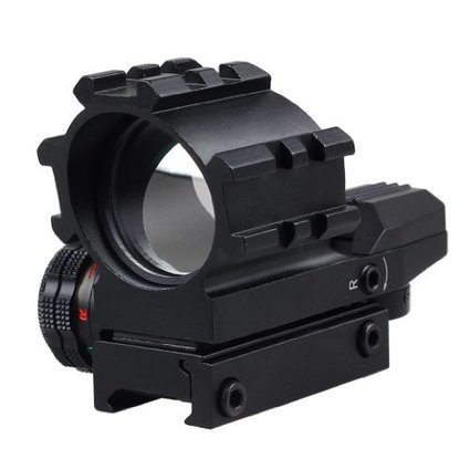 6c56603093d VERY100 Tactical Holographic 4 Reticles Projected Red Green Dot Reflex  Sight Scope Mount
