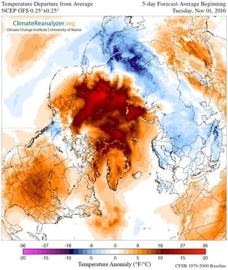Algo preocupante está ocurriendo este otoño con el hielo del Ártico | Nuevas Geografías | Scoop.it