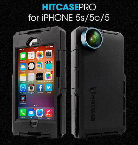 Waterproof iPhone 6, iPhone 5 Case-Shockproof, Mountable Anywhere - Hitcase | Videomaking | Scoop.it