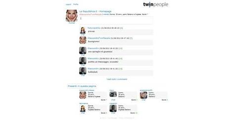 TwinPeople è tutto nuovo e tutto da provare | Twitter addicted | Scoop.it