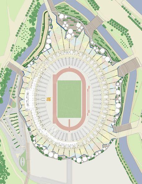 London 2012 Olympic Stadium Seating Plan Eu F