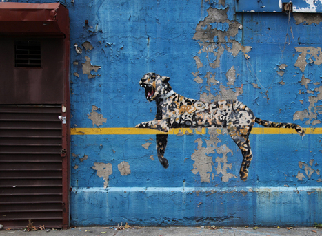 #Banksy in New York City day 30 - Better Out Than In by @banksyny | #Design | Scoop.it