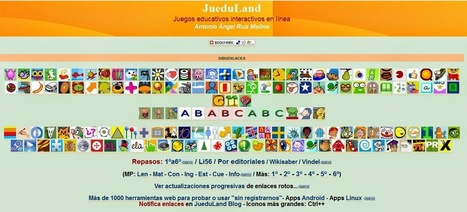 JueduLand - Un banco de recursos TIC imprescindible | Recursos TIC | Scoop.it
