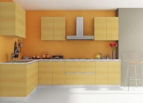 Modular Kitchen Interior Design In Kitchen Cabinets Design