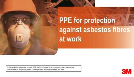 "RESOURCE: ""Guidance for workers at risk of exposure to asbestos fibres"" 