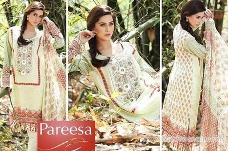 Pareesa Winter Dresses 2014 In Stores | Fashion Blog | Scoop.it