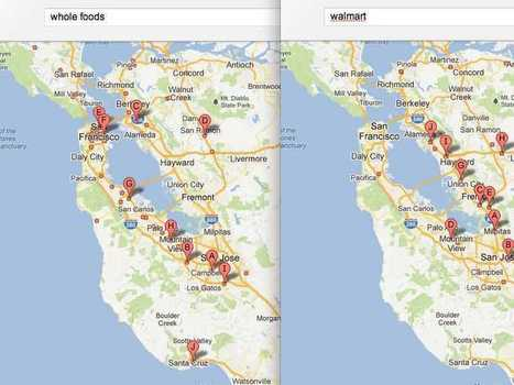 An Ingenious Way Of Using Google Maps To Tell Where Rich And ... | Spatial in Schools | Scoop.it