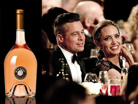 Brad Pitt & Angelina Jolie's Wine Named Best Rosé in the World - People Magazine | Wine cellar | Scoop.it