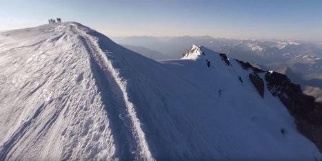 GENIAL : Google propose une ascension virtuelle du mont Blanc | Webjournalisme | Scoop.it