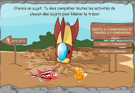 Madame Belle Feuille: Aquamath Website for math concepts | Primary French Immersion Education | Scoop.it